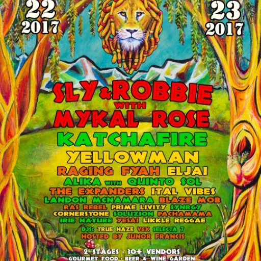 The 8th Reggae on the Mountain Festival Takes Place July 22nd-23rd in Topanga Canyon, California
